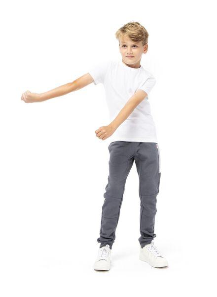 kinder sweatbroek donkergrijs donkergrijs - 1000013794 - HEMA