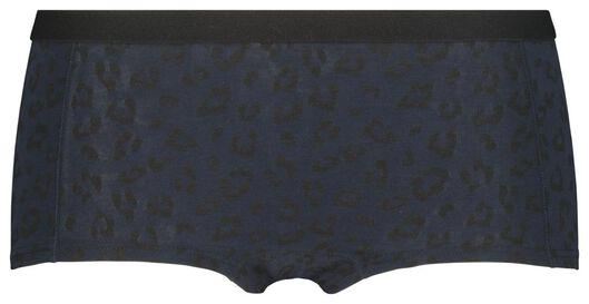 tienerboxer donkerblauw donkerblauw - 1000019979 - HEMA