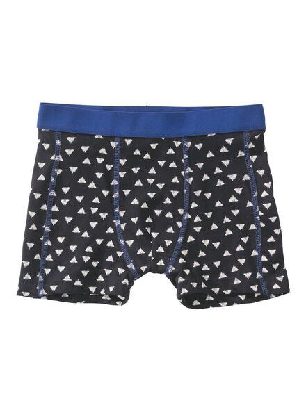 kinderboxer donkerblauw donkerblauw - 1000009349 - HEMA