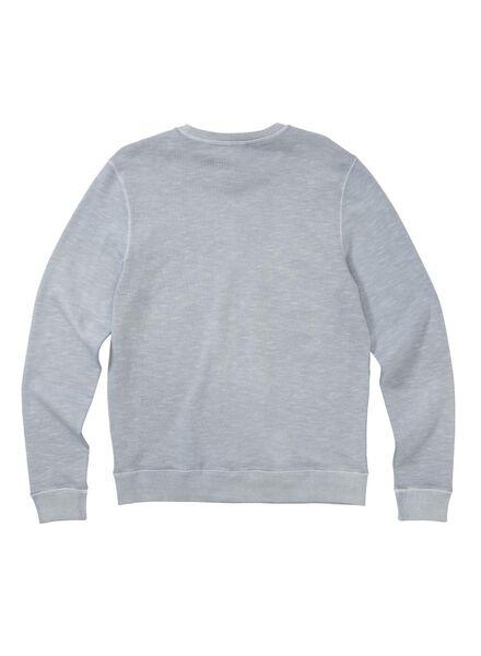 herensweater lichtblauw lichtblauw - 1000008001 - HEMA