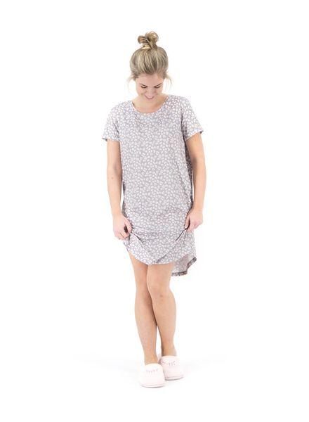 dames nachthemd lichtroze lichtroze - 1000015503 - HEMA