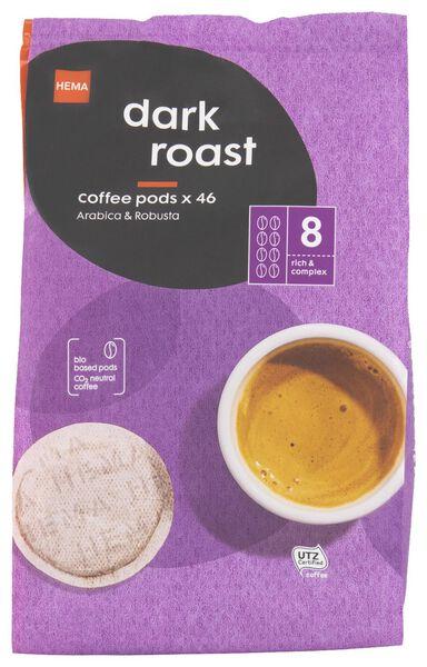 koffiepads dark roast - 46 stuks - 17150002 - HEMA