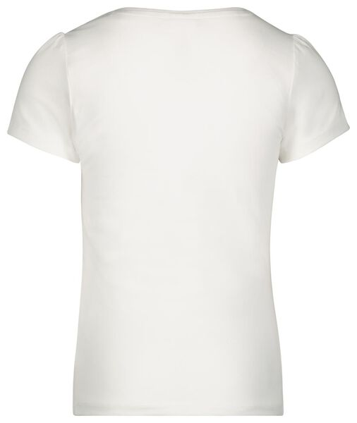 kinder t-shirts - 2 stuks wit 122/128 - 30843933 - HEMA