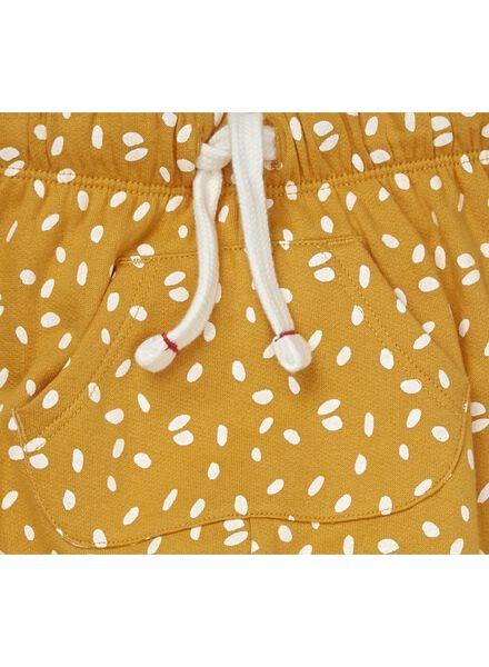 baby sweatbroek geel geel - 1000010806 - HEMA