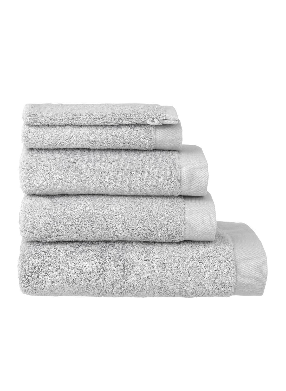 HEMA Handdoeken - Hotel Extra Zacht Lichtgrijs (lichtgrijs)