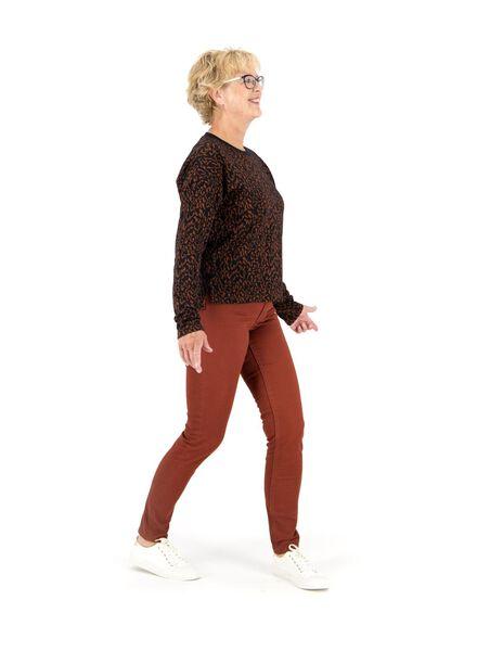 dames sweater bruin bruin - 1000014750 - HEMA