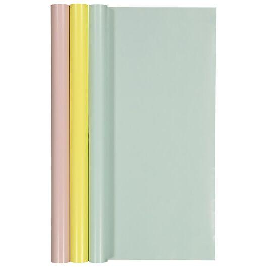 kaftpapier - multi - 3 stuks - 14501260 - HEMA