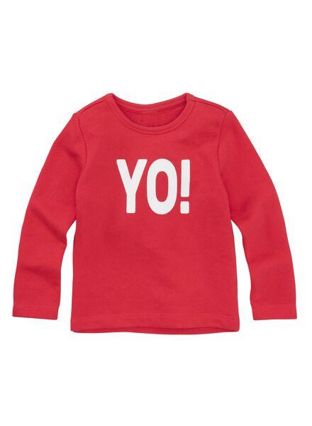 kindersweater rood rood - 1000011316 - HEMA