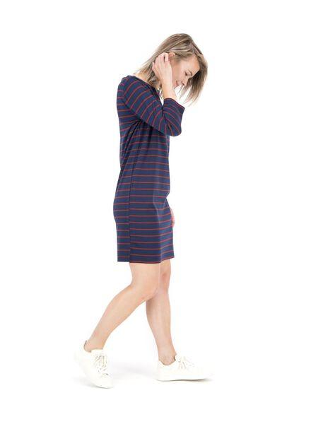 damesjurk donkerblauw donkerblauw - 1000014827 - HEMA
