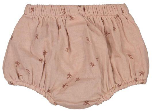 babyset jurk en broekje roze roze - 1000023704 - HEMA