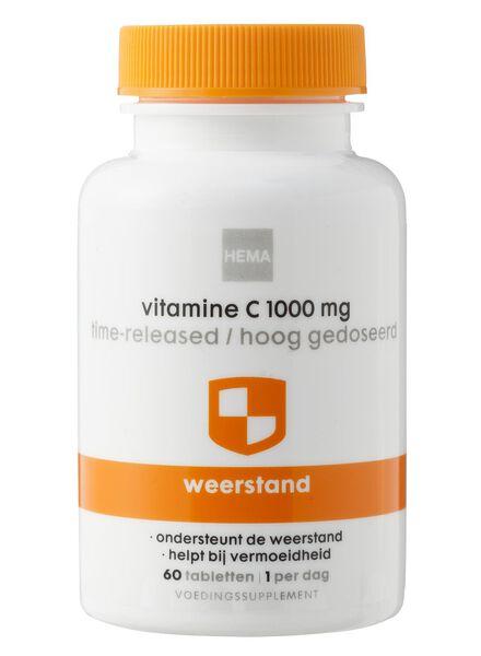 vitamine C 1000 mg time-released / hoog gedoseerd - 11401615 - HEMA