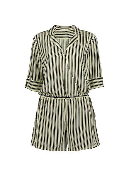 dames jumpsuit wit/zwart wit/zwart - 1000013825 - HEMA
