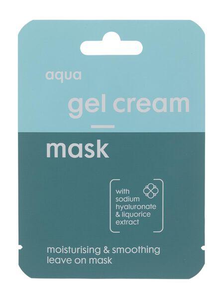 masker gelcrème aqua - 17870003 - HEMA