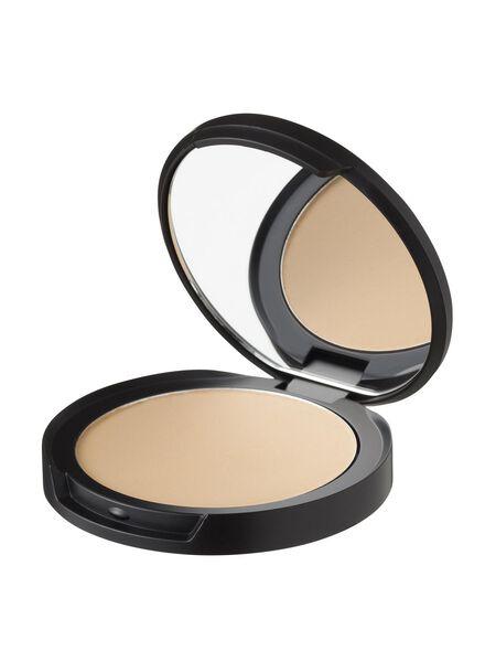 mattifying face powder beige light - 11294724 - HEMA