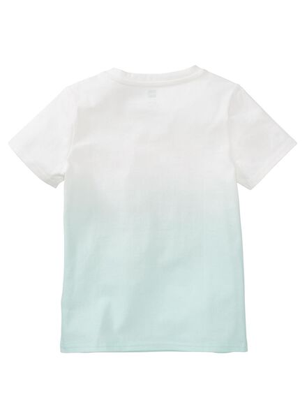 kinder t-shirt blauw blauw - 1000013282 - HEMA