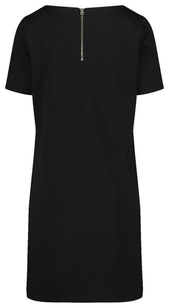damesjurk zwart zwart - 1000019246 - HEMA