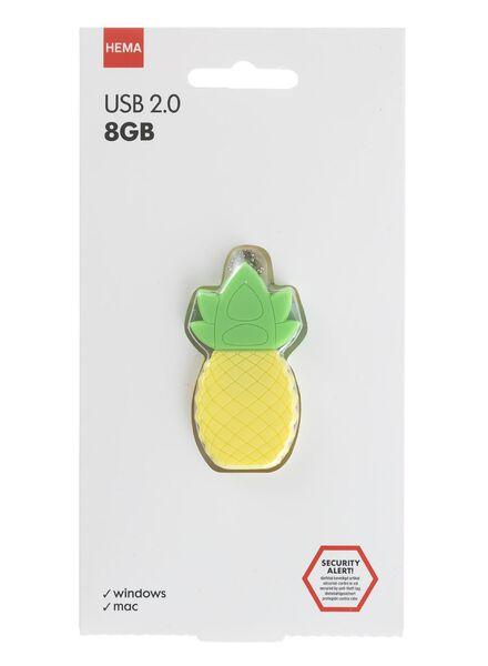 USB-stick ananas 8GB - 39522205 - HEMA