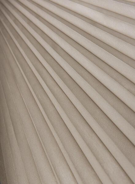 Plissé dubbel lichtdoorlatend / witte achterzijde 25 mm