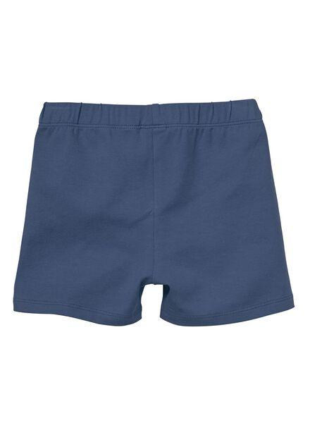 2-pak kinderleggings donkerblauw donkerblauw - 1000012607 - HEMA