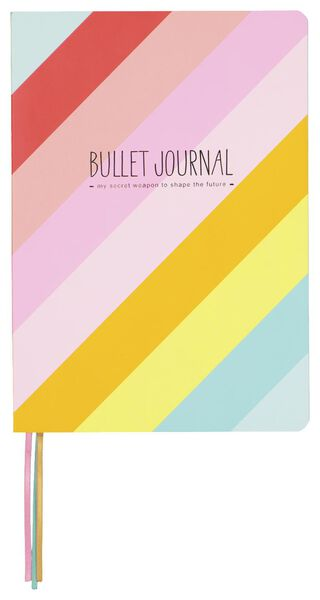 bullet journal A5 happy - 14150041 - HEMA