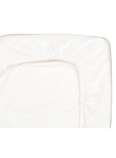 hoeslaken 160x200 flanel - wit - 5100010 - HEMA