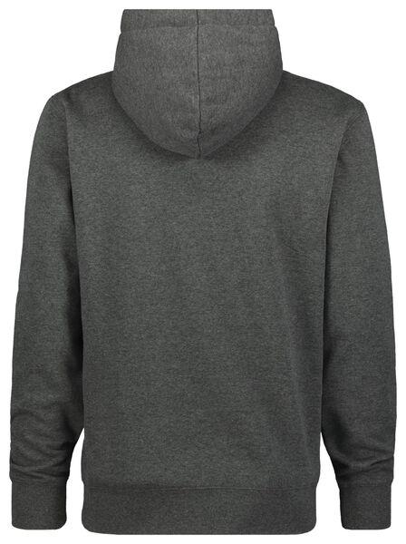 heren capuchonsweater grijsmelange grijsmelange - 1000022463 - HEMA