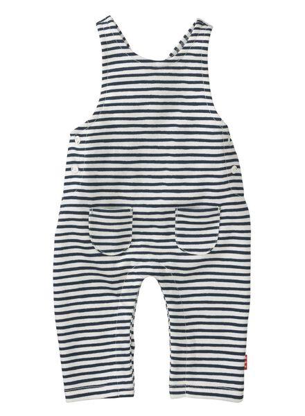 baby newborn jumpsuit blauw blauw - 1000013014 - HEMA