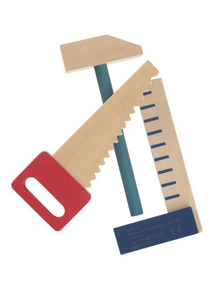 houten gereedschapset - 15122399 - HEMA