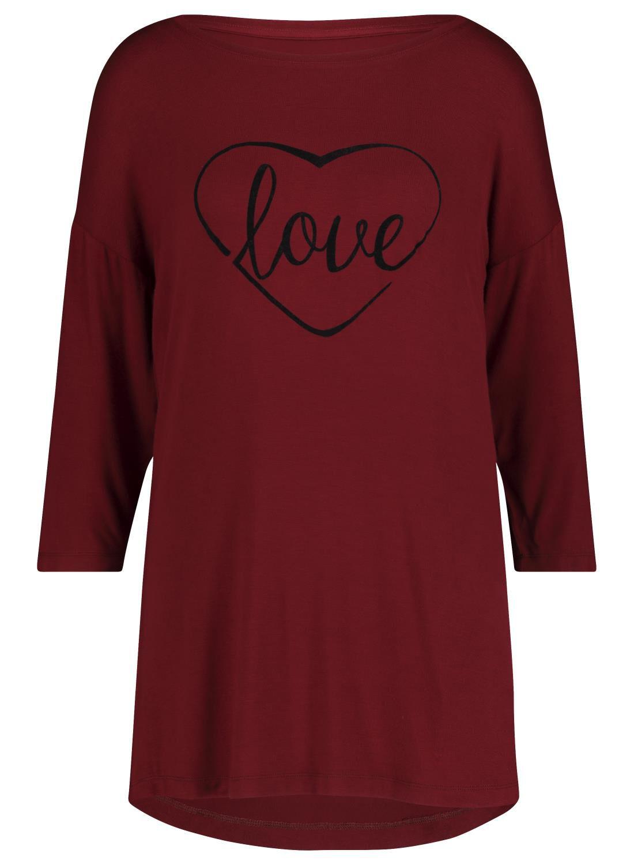 HEMA Dames Nachthemd Grijsmelange (grijsmelange)