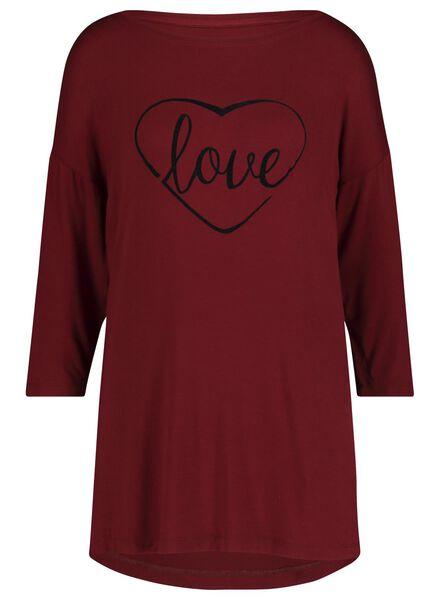 dames nachthemd grijsmelange grijsmelange - 1000017230 - HEMA