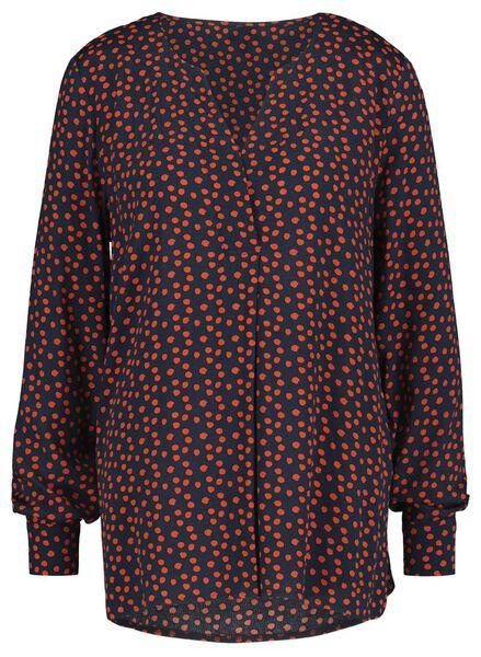 dames top oranje oranje - 1000020944 - HEMA