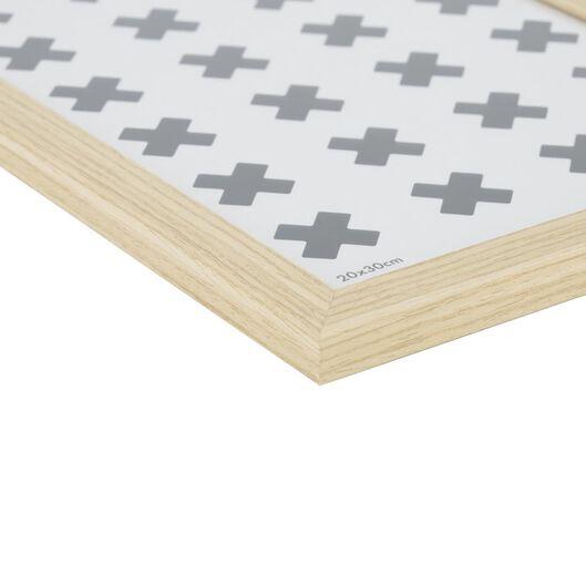 fotolijst hout 20x30 - naturel - 13611133 - HEMA