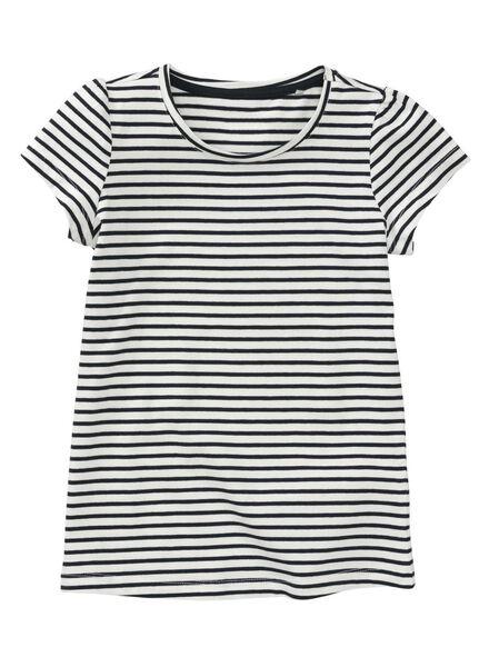 2-pak kinder t-shirts lichtgrijs lichtgrijs - 1000007445 - HEMA