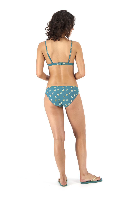 HEMA Dames Bikinislip Donkergroen (donkergroen)