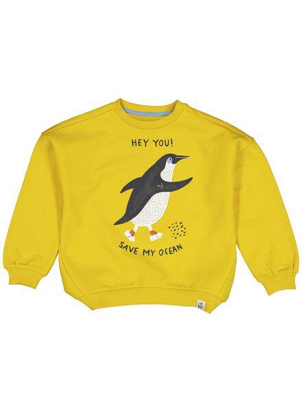 kindersweater geel geel - 1000013698 - HEMA