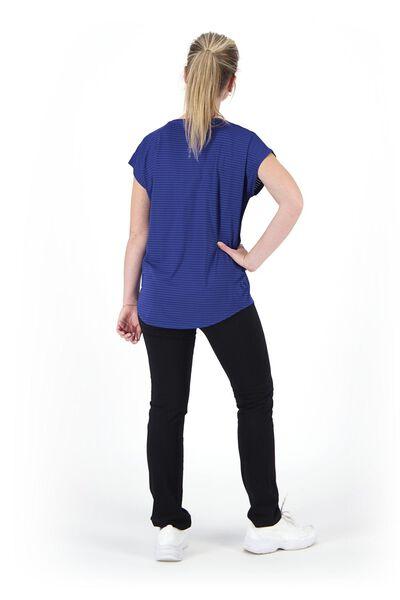 dames sportshirt loose fit blauw blauw - 1000020049 - HEMA