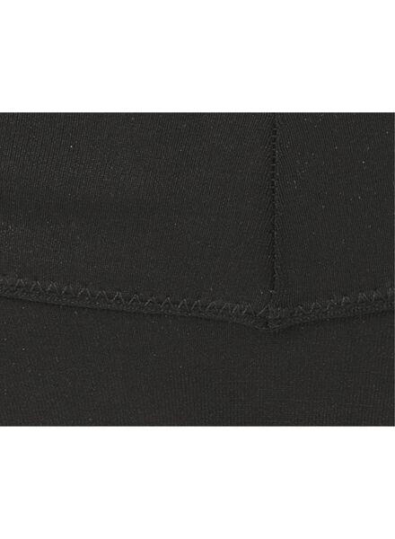 B.A.E. damesstring naadloos micro zwart zwart - 1000008784 - HEMA
