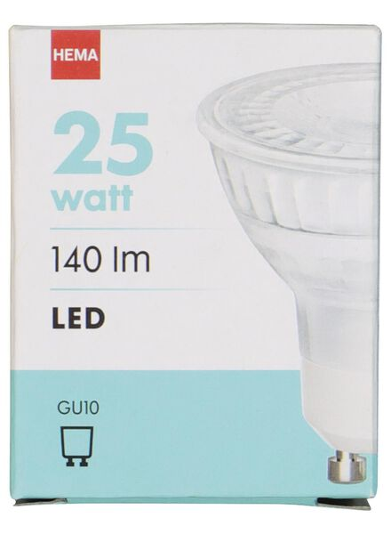 LED lamp 25W - 140 lm - spot - helder - 20020048 - HEMA