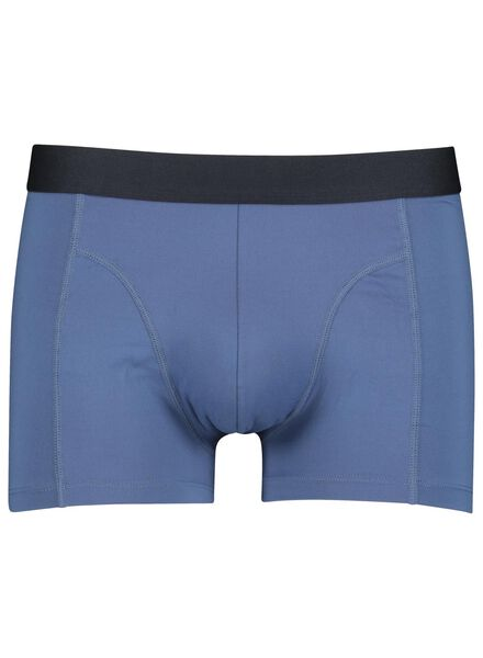 2-pak herenboxers micro kort donkerblauw donkerblauw - 1000014680 - HEMA