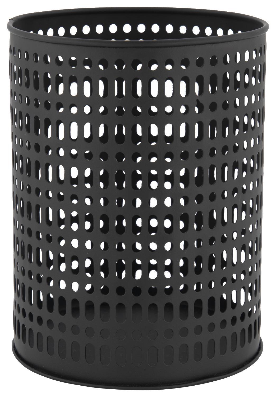 HEMA Sfeerlichthouder Ø13x17.5 Metaal Zwart (zwart)