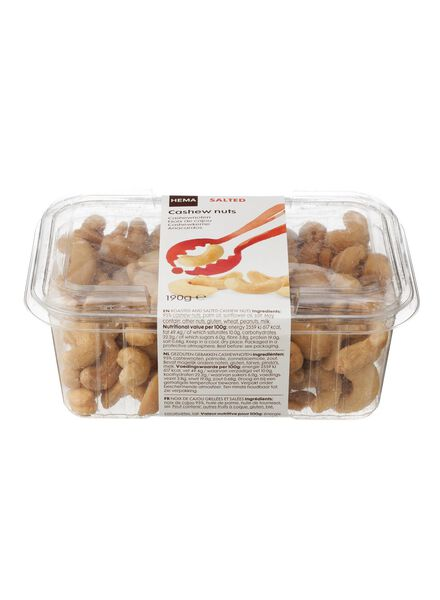 cashewnoten gezouten - 10673008 - HEMA