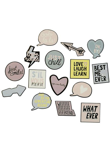 XL stickers - 14501223 - HEMA