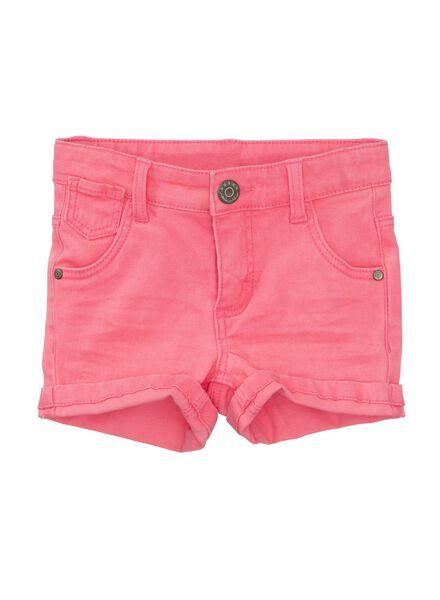 kindershort roze roze - 1000006665 - HEMA