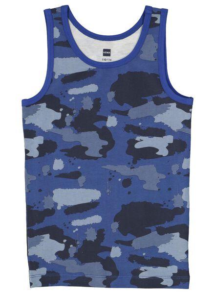 2-pak kinderhemden blauw blauw - 1000014978 - HEMA