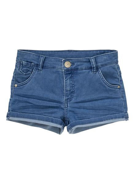 kindershort denim denim - 1000012584 - HEMA