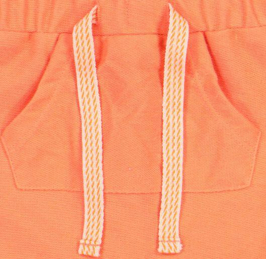 baby sweatshort oranje oranje - 1000019206 - HEMA