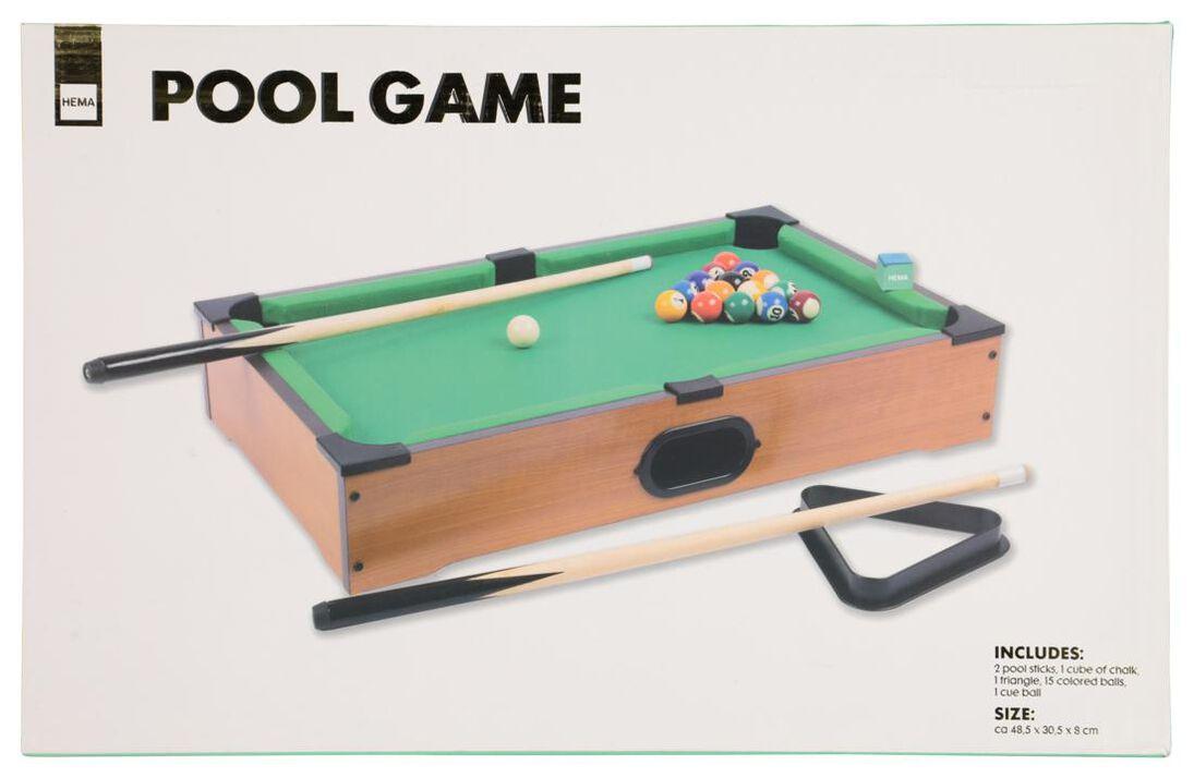 pool spel - 48.5x30.5x8