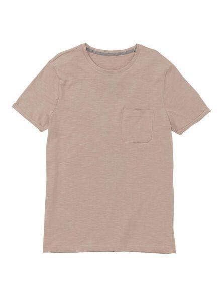 heren t-shirt roze roze - 1000009590 - HEMA