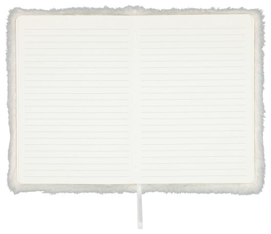Notitieboek A5 fluffy letter P