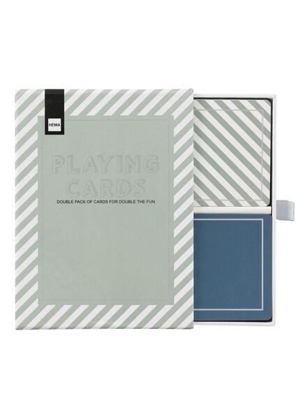 2-pak speelkaarten - 60200397 - HEMA